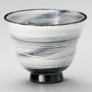 粉引うず陶碗 和食器 ロックカップ 業務用 約10.5×8.2cm 焼酎ロック 梅酒ロック 杏仁豆腐|minnano-souko