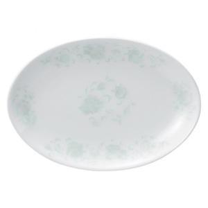 ・サイズ:21×14.6×2.3cm  ・重量:350g  【中華食器/プラター(楕円皿)/プラター...