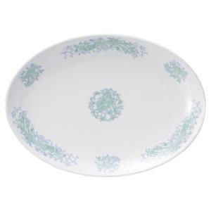 ・サイズ:30.8×22.5×3cm  ・重量:721g  【中華食器/プラター(楕円皿)/プラター...