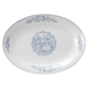 ・サイズ:31×22.5cm  ・重量:830g  【中華食器/プラター(楕円皿)/プラター 30c...