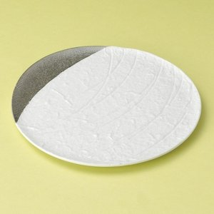 白結晶プラチナ満月皿 和食器 フルーツ皿・銘々皿・取皿 業務用 約17.5cm 和食 和風 プレート...