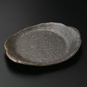 ・サイズ:16×13×2cm ・重量:230g  【和食器/皿皿/串皿・のり皿】【カラー:ブラウン系...