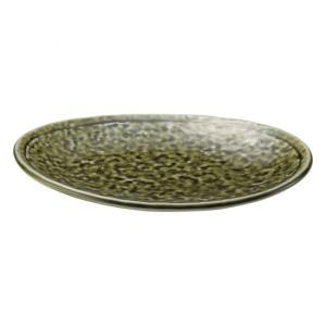・サイズ:21×14.5×3cm ・重量:407g  【和食器/皿皿/多用皿・変形皿/楕円皿】【カラ...