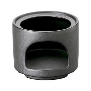 バーニャカウダ フォンデュ 耐熱ストレートスタックウォーマーブラック 箱入り 洋食器 耐熱食器 コン...