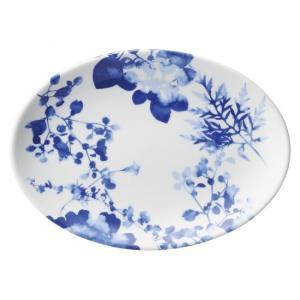 ・サイズ:23.5×16.7×2.5cm  ・重量:415g  【中華食器/プラター(楕円皿)/プラ...