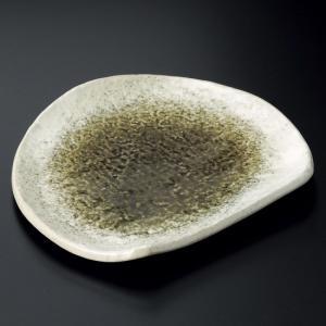 ・サイズ:21×18.3×2.5cm ・重量:480g ・強化 【和食器/皿皿/多用皿・変形皿/半月...