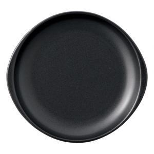 ブラックセラム 陶板 小 洋食器 耐熱食器 ステーキ皿 業務用 約23.5cm