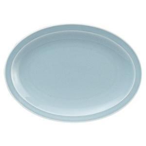 ・サイズ:L31.3×S22.5×H3cm  ・磁器  【中華食器/プラター(楕円皿)/プラター 3...