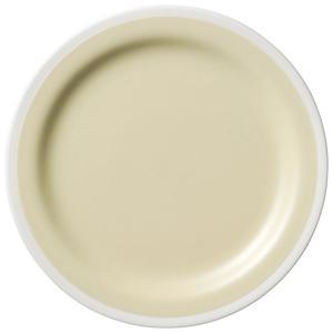 ソリッドバニラ61/2インチパン おしゃれ スタイリッシュ 皿 プレート 丸皿 カネスズ 洋食器 丸...