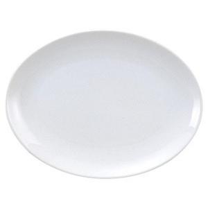 ・サイズ:L24×S17×H2.5cm  ・磁器  【中華食器/プラター(楕円皿)/プラター 20c...