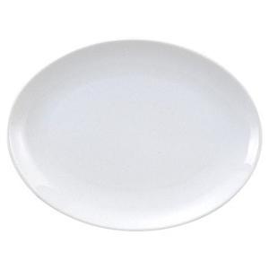 ・サイズ:L31.5×S22.9×H3.1cm  ・磁器  【中華食器/プラター(楕円皿)/プラター...