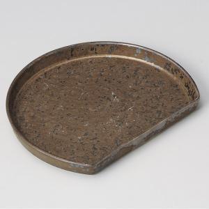 ・サイズ:19.5×16.2×2cm ・重量:360g  【和食器/皿皿/多用皿・変形皿/半月皿】【...