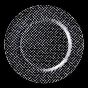 ニューバスケット プレート27 ガラス プレート 丸 業務用 約275mm|minnano-souko