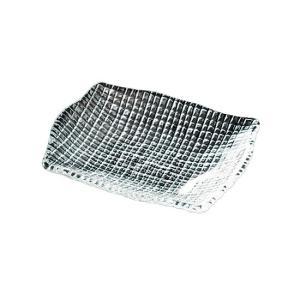 グロウ レクタングルプレート15 ガラス プレート 正角・長角 業務用 約150mm|minnano-souko