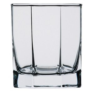 オクテム 300オールド ガラス ロックグラス 業務用 約77mm|minnano-souko