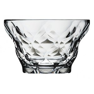 マエヴァ デザート350 ダイヤモンド ガラス デザート 業務用 約120mm