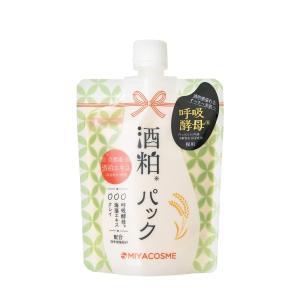 [ミヤコスメ正規販売店] 日本製 ミヤコスメ 酒粕パック 170g|minnanohappiness