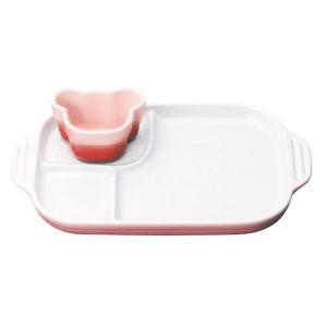 ル・クルーゼ(le creuset)の陶器ベビー食器ギフト。大きくなってもずっといっしょ。離乳食から...