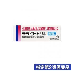 テラ・コートリル軟膏a 6g 指定第2類医薬品