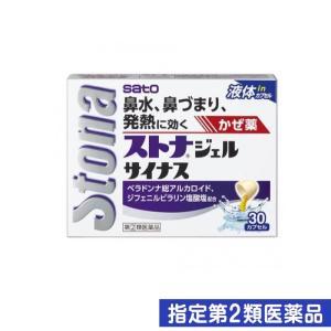 ストナジェルサイナス 30カプセル 指定第2類医薬品