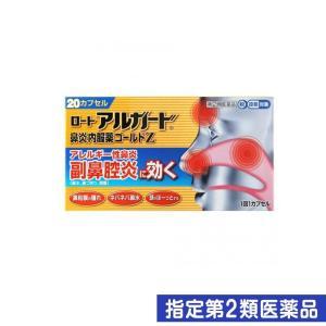 ロートアルガード 鼻炎内服薬ゴールドZ 20カプセル 指定第2類医薬品