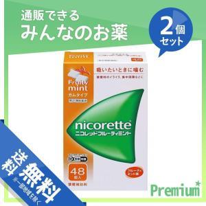 ニコレットフルーティミント 48個 2個セット  指定第2類医薬品