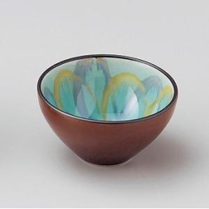 鉢 ボウル おしゃれ 豆鉢 小鉢 ムーブ グリーンボール 8cm 小付 お皿 和 食器 陶器|minopota