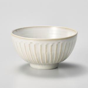 飯碗 茶碗 おしゃれ ごはん 粉引そぎ 12.5cm ご飯 めし碗 丼 どんぶり ボウル 食器 陶器|minopota