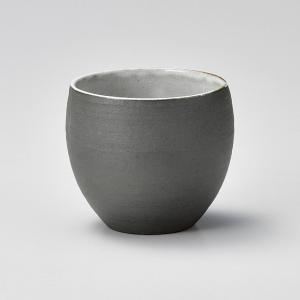 フリーカップ コップ 酒器 おしゃれ 丸カップ 白 340cc 食器 陶器 タンブラー グラス|minopota
