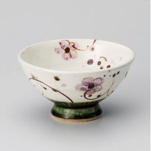飯碗 茶碗 おしゃれ ごはん 織部花唐草 11.8cm ご飯 めし碗 丼 どんぶり ボウル 食器 陶器|minopota