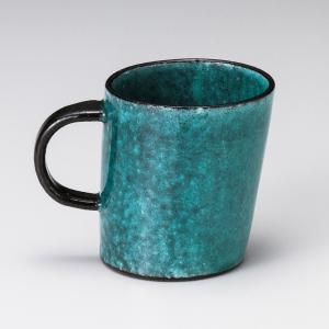 マグカップ おしゃれ カフェ ヨリソウ マグ 300cc ブルー コーヒー 食器 陶器 minopota