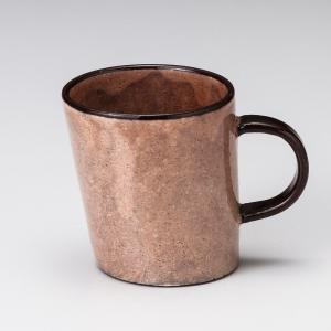 マグカップ おしゃれ カフェ ヨリソウ マグ 300cc ピンク コーヒー 食器 陶器 minopota