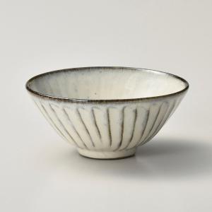 飯碗 茶碗 おしゃれ ごはん 黒陶粉引 12cm ご飯 めし碗 丼 どんぶり ボウル 食器 陶器|minopota