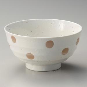丼 どんぶり ボウル おしゃれ 白結晶 ドット 17.2cm ラーメン うどん 麺 盛鉢 ボール 食器 陶器|minopota
