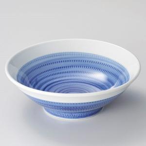 丼 どんぶり ボウル おしゃれ ゴス巻トチリ 25cm ラーメン うどん 麺 盛鉢 ボール 食器 陶器|minopota