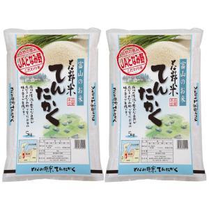 米 お米 白米 10kg  てんたかく 富山県産 となみ野米...