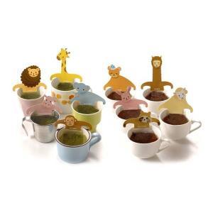 緑茶 ティーバッグ「アニマルティーパーティ」お茶 日本茶 かわいい ギフト セット 動物園|minorien|02