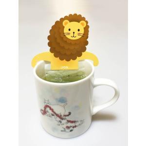 緑茶 ティーバッグ「アニマルティーパーティ」お茶 日本茶 かわいい ギフト セット 動物園|minorien|06