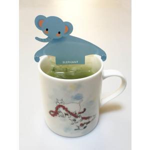 緑茶 ティーバッグ「アニマルティーパーティ」お茶 日本茶 かわいい ギフト セット 動物園|minorien|07