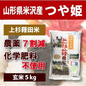 【2020年度産】山形県米沢産 つや姫 超低農薬米 5kg (玄米)上杉藉田米|minorinokai