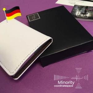ドイツ Philippi  フィリッピ Donatella カードケース  名刺入れ (  ホワイト × ブラウン )|minorityplus