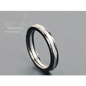 ≪メンズ≫ タングステン 耐金属アレルギー リング 指輪 |minorityplus