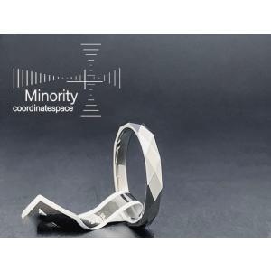 ≪メンズ≫ タングステン 耐金属アレルギー リング 指輪 17号|minorityplus
