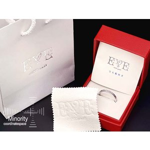 ≪メンズ≫ EVE ダイヤモンド入り サージカルステンレス 耐金属アレルギー リング 指輪 19号|minorityplus