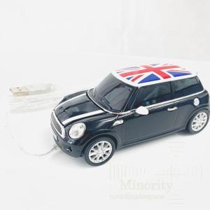 マウス クリックカーマウス Mini Cooper S Astro Black [光学式 /USB /有線]|minorityplus