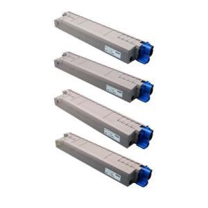 商品名:MIKASAリサイクルトナー参考型名:TC-C3B K1,C1,M1,Y1 4色セットリサイクルトナー(沖データ)(C824dn/C835dnw/C835dnwt/C844dnw)<リターン方式>