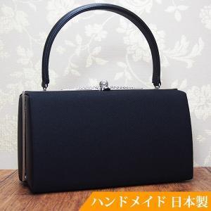 フォーマルバッグ 黒  葬儀 結婚式 入学式 卒業式 お受験 日本製 ブラックフォーマルバッグ MINOTOFU bfc01|minotofu