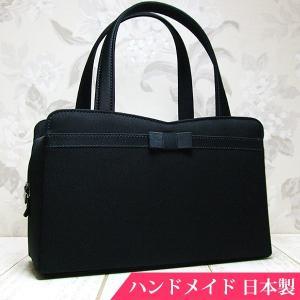 フォーマルバッグ 黒  葬儀 結婚式 入学式 卒業式 お受験 日本製 ブラックフォーマルバッグ MINOTOFU bff01|minotofu