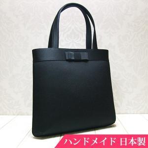 フォーマルバッグ 黒  葬儀 結婚式 入学式 卒業式 お受験 日本製 ブラックフォーマルバッグ MINOTOFU bft06|minotofu