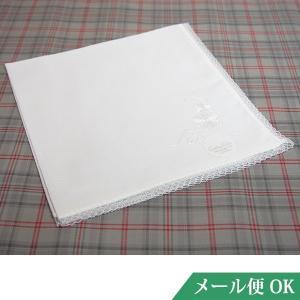 礼装用 ハンカチ 白 レース フォーマル お受験 入学式 卒業式 葬儀 お通夜 法事 kh04|minotofu